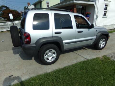 2007 Jeep Liberty for sale at English Autos in Grove City PA