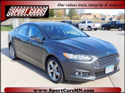 2015 Ford Fusion for sale at SPORT CARS in Norwood MN