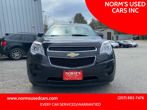 2015 Chevrolet Equinox for sale at NORM'S USED CARS INC in Wiscasset ME