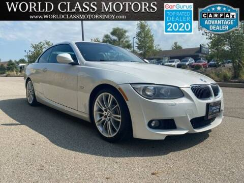 2013 BMW 3 Series for sale at World Class Motors LLC in Noblesville IN