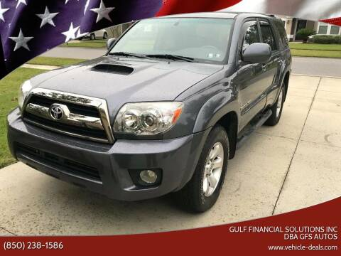 2006 Toyota 4Runner for sale at Gulf Financial Solutions Inc DBA GFS Autos in Panama City Beach FL
