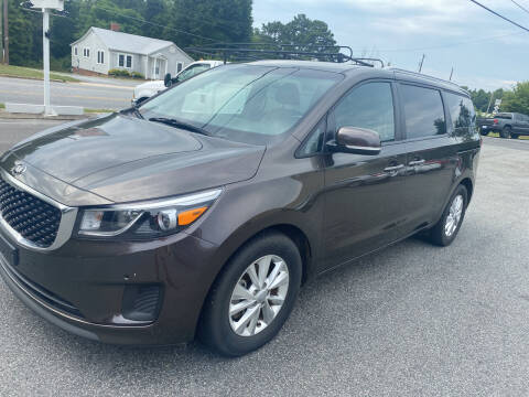 2018 Kia Sedona for sale at Stikeleather Auto Sales in Taylorsville NC