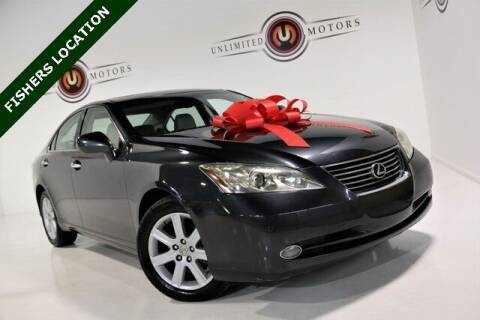 2007 Lexus ES 350 for sale at Unlimited Motors in Fishers IN