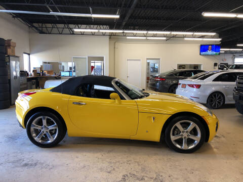 2008 Pontiac Solstice for sale at Fox Valley Motorworks in Lake In The Hills IL