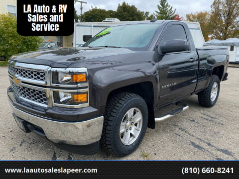 2015 Chevrolet Silverado 1500 for sale at LA Auto & RV Sales and Service in Lapeer MI