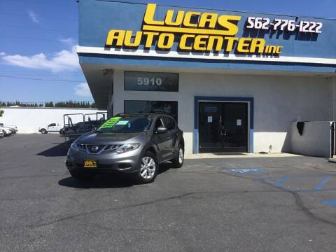 2014 Nissan Murano for sale at Lucas Auto Center in South Gate CA