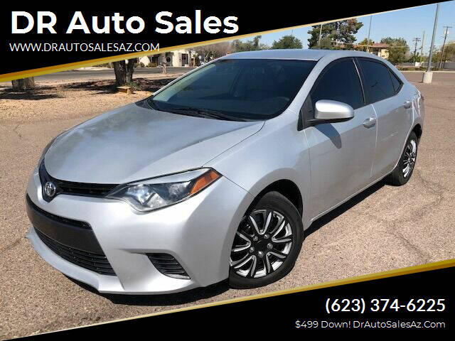 2015 Toyota Corolla for sale at DR Auto Sales in Glendale AZ