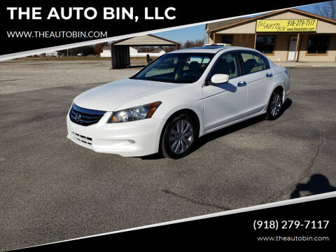 2012 Honda Accord for sale at THE AUTO BIN, LLC in Broken Arrow OK