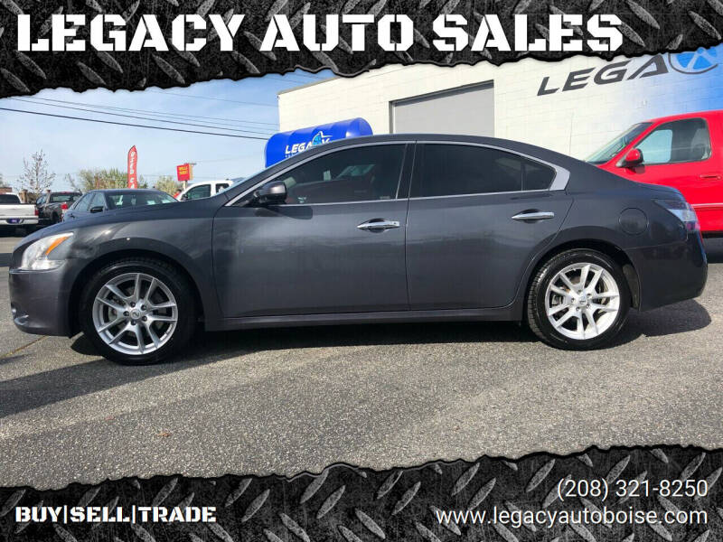 2013 Nissan Maxima for sale at LEGACY AUTO SALES in Boise ID