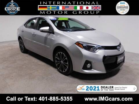2016 Toyota Corolla for sale at International Motor Group in Warwick RI