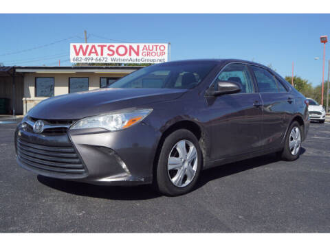 2017 Toyota Camry for sale at Monthly Auto Sales in Fort Worth TX