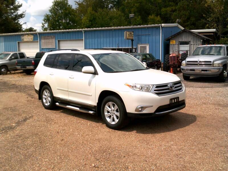 2012 Toyota Highlander for sale at Tom Boyd Motors in Texarkana TX