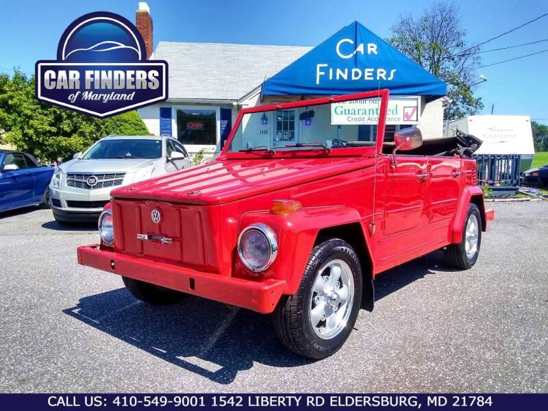 1973 Volkswagen Thing for sale at CAR FINDERS OF MARYLAND LLC - Classics in Eldersburg MD