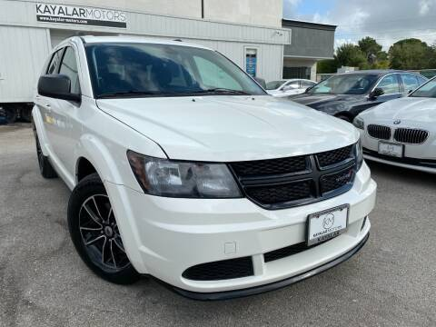 2018 Dodge Journey for sale at KAYALAR MOTORS in Houston TX