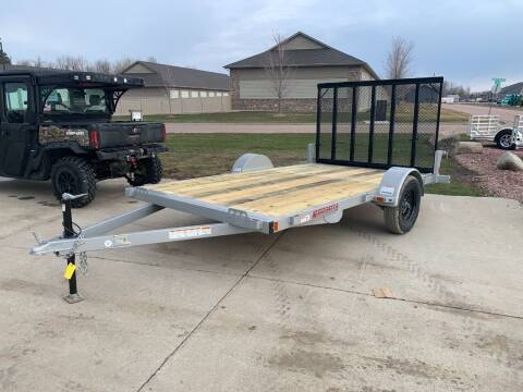 2021 Midsota UT8312 Steel Utility #3351 for sale at Prairie Wind Trailers, LLC in Harrisburg SD