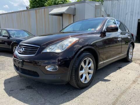 2008 Infiniti EX35 for sale at Philadelphia Public Auto Auction in Philadelphia PA