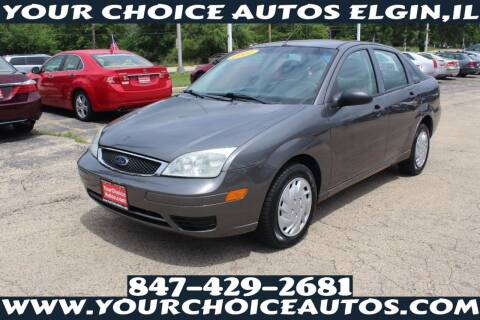 2007 Ford Focus for sale at Your Choice Autos - Elgin in Elgin IL