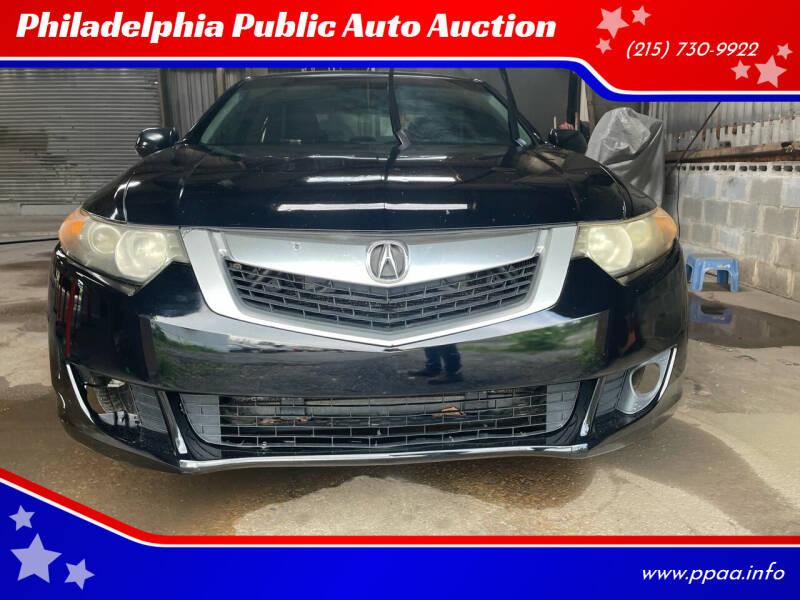 2009 Acura TSX for sale at Philadelphia Public Auto Auction in Philadelphia PA