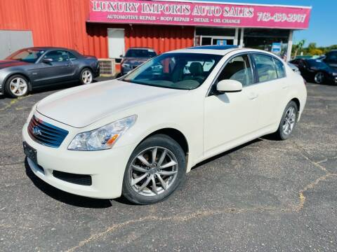 2007 Infiniti G35 for sale at LUXURY IMPORTS AUTO SALES INC in North Branch MN