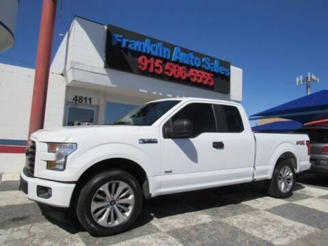 2017 Ford F-150 for sale at Franklin Auto Sales in El Paso TX