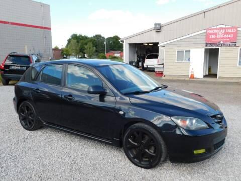 2007 Mazda MAZDA3 for sale at Macrocar Sales Inc in Akron OH