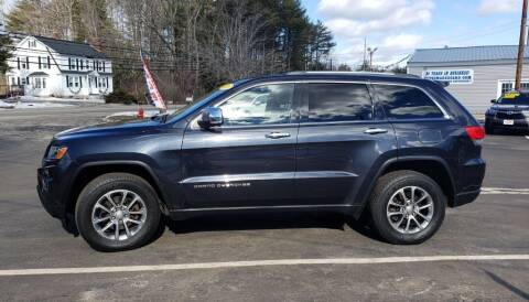 2014 Jeep Grand Cherokee for sale at Healey Auto in Rochester NH