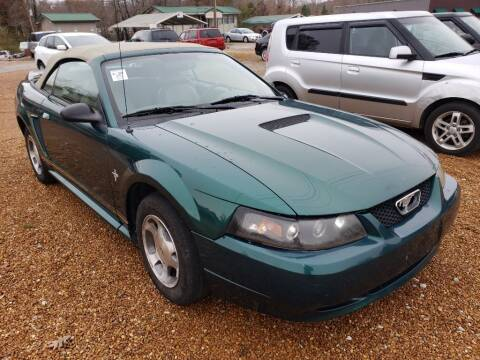 2000 Ford Mustang for sale at Scarletts Cars in Camden TN