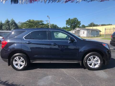 2015 Chevrolet Equinox for sale at Kenny's Auto Sales Inc. in Lowell NC