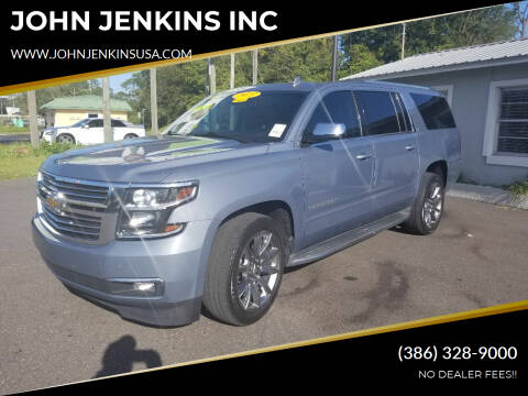 2015 Chevrolet Suburban for sale at JOHN JENKINS INC in Palatka FL
