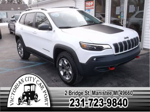 2019 Jeep Cherokee for sale at Victorian City Car Port INC in Manistee MI