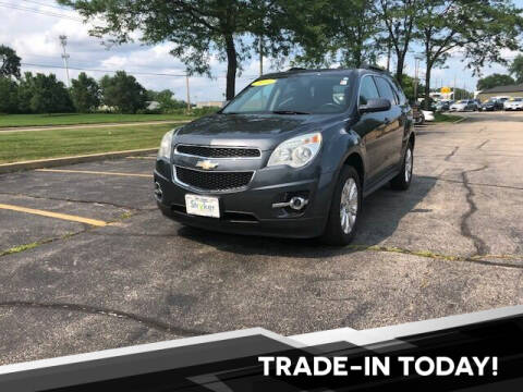 2011 Chevrolet Equinox for sale at Stryker Auto Sales in South Elgin IL