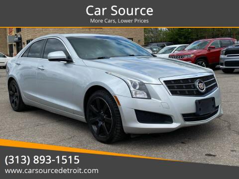 2013 Cadillac ATS for sale at Car Source in Detroit MI