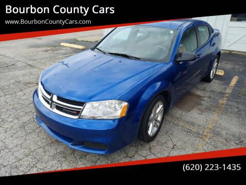 2013 Dodge Avenger for sale at Bourbon County Cars in Fort Scott KS