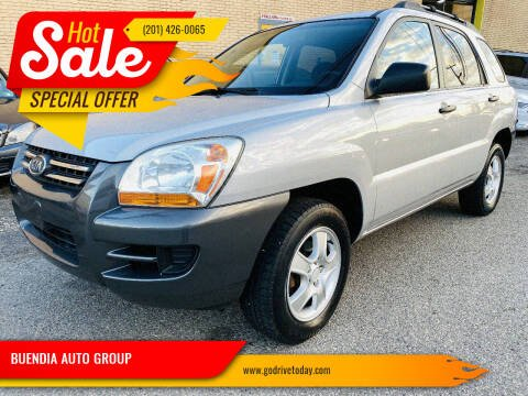2007 Kia Sportage for sale at BUENDIA AUTO GROUP in Hasbrouck Heights NJ