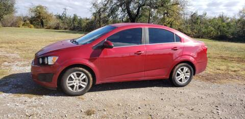 2013 Chevrolet Sonic for sale at NOTE CITY AUTO SALES in Oklahoma City OK