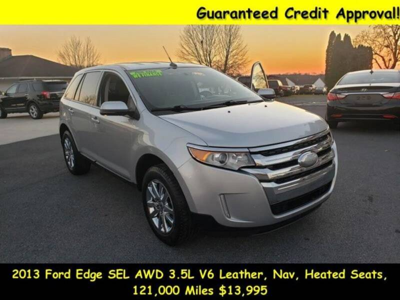 2013 Ford Edge for sale at Fortnas Used Cars in Jonestown PA
