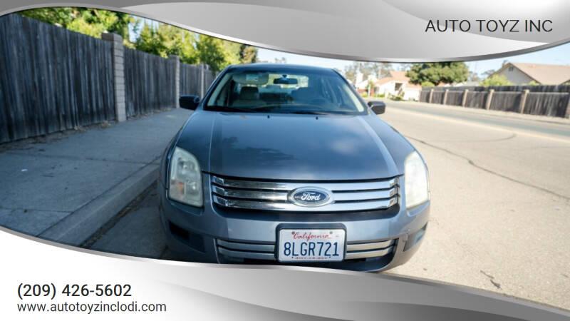 2006 Ford Fusion for sale at Auto Toyz Inc in Lodi CA
