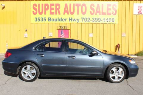 2006 Acura RL for sale at Super Auto Sales in Las Vegas NV