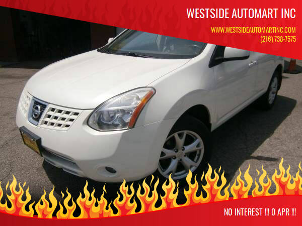 2009 Nissan Rogue for sale at WESTSIDE AUTOMART INC in Cleveland OH