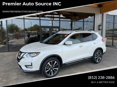 2019 Nissan Rogue for sale at Premier Auto Source INC in Terre Haute IN