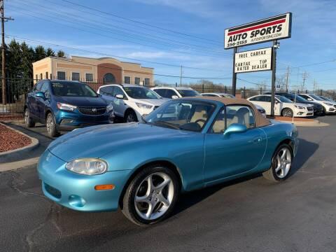 2001 Mazda MX-5 Miata for sale at Auto Sports in Hickory NC