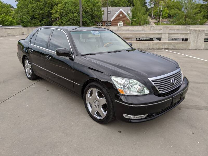 2005 Lexus LS 430 for sale at QC Motors in Fayetteville AR