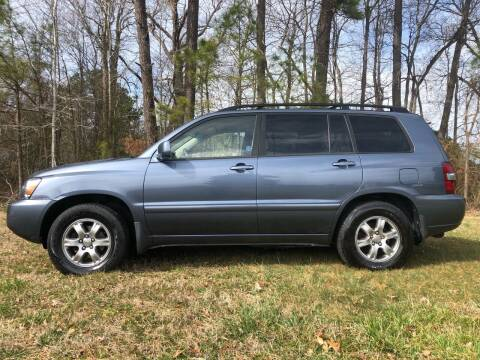 2004 Toyota Highlander for sale at Harris Motors Inc in Saluda VA