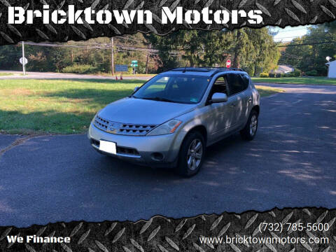 2006 Nissan Murano for sale at Bricktown Motors in Brick NJ