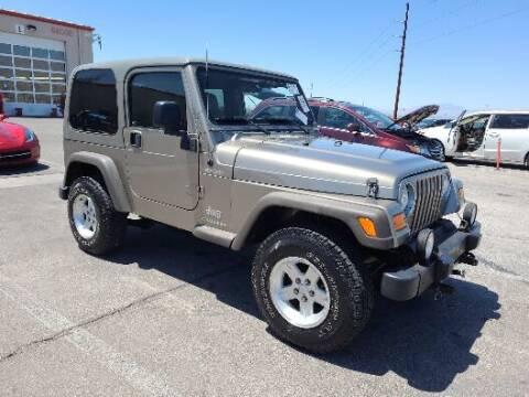 2006 Jeep Wrangler for sale at Arizona Specialty Motors in Tempe AZ