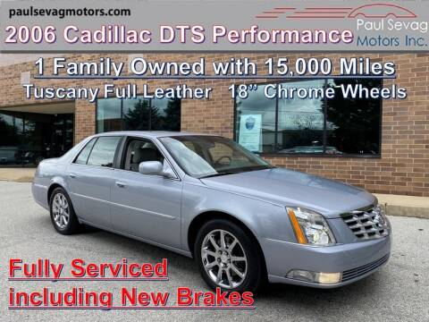 2006 Cadillac DTS for sale at Paul Sevag Motors Inc in West Chester PA