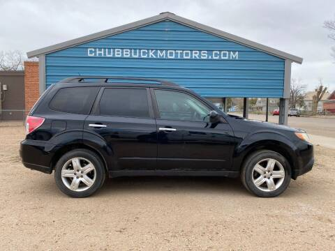 2010 Subaru Forester for sale at Chubbuck Motor Co in Ordway CO