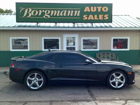 2014 Chevrolet Camaro for sale at Borgmann Auto Sales in Norfolk NE