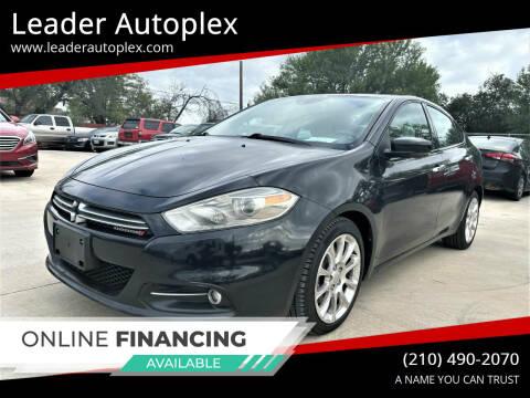 2013 Dodge Dart for sale at Leader Autoplex in San Antonio TX