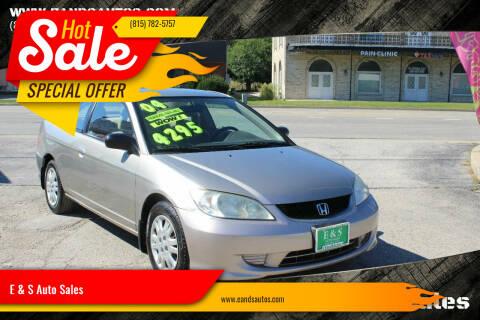 2004 Honda Civic for sale at E & S Auto Sales in Crest Hill IL